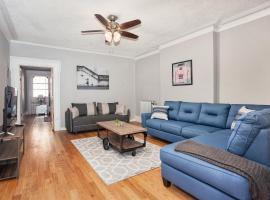 出色住宿:泽西城美丽庭院公寓