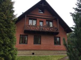 Dom u ozera Krugloe, Rybaki