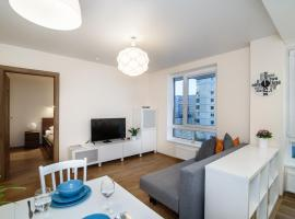 Apartment close to shopping centers