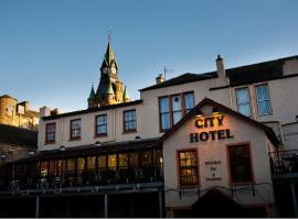 城市酒店,位于邓弗姆林的酒店