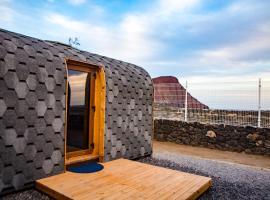 Eco-wooden Houses Camping Montaña Roja