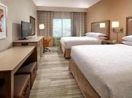 加州长滩机场汉普顿酒店