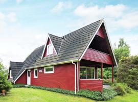 Three-Bedroom Holiday home in Nykøbing Sj 5
