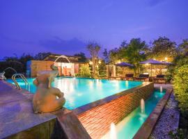 泰国素可泰万荣塔湾旅馆