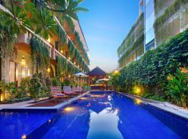 巴厘岛勒吉安茶屋酒店