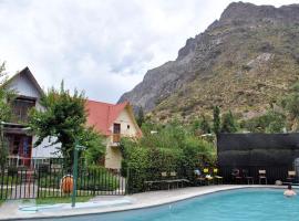 Refugio Cumbres, Los Andes (Penitentes Ski附近)