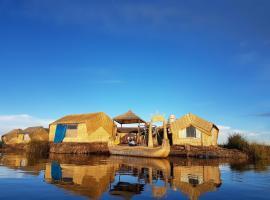 Uros Lake Titicaca Lodge, 普诺 (Uros附近)