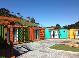 Villa dos Ventos Hospedagem Container, Bom Jardim da Serra (Serra do Rio do Rastro附近)