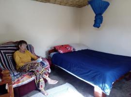 Cozy colorful room