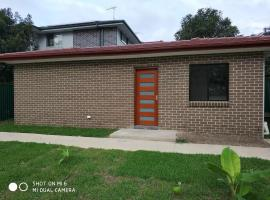 brand new one bedroom house with Aircondition