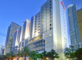 希尔顿汉普顿酒店及套房迈阿密市中心/布里克尔, 迈阿密