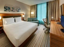 希尔顿花园法兰克福空港酒店,位于美因河畔法兰克福的酒店