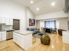 RAI Properties · Contemporary Design 2BD Top Floor Flat Center City