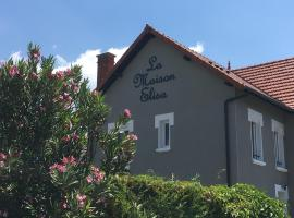 La Maison Elisa,位于艾克斯莱班的公寓