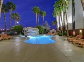 汉普顿热带花园酒店,位于拉斯维加斯的酒店