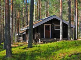 Laahtasen Leirintä ja Lomakylä, Härmänmäki (Saukkovaara附近)