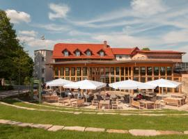 Hotel Brunnenhaus Schloss Landau, 巴特阿罗尔森