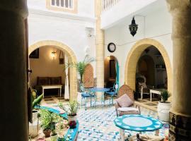里亚德拉拉吉娜摩洛哥传统庭院住宅