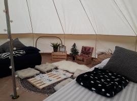 豪华贝尔帐篷露营旅馆