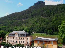 Pension Bomätscher und Campingplatz am Treidlerweg