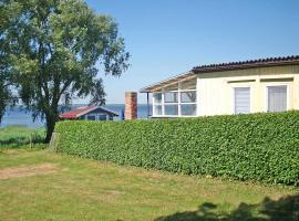 Ferienhaus mit Ruderboot Kummerow