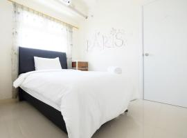 Simply 2BR Green Pramuka Apartment By Travelio