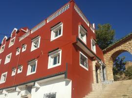 Hotel Ain Leuh, Ain Leuh (Aguelma Azigza National Park附近)