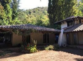 Casa Colonial en Cordillera de los Andes