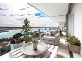 Unbeatable beachside apartment with epic view