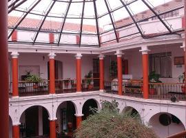 库图尔伯林旅馆,位于苏克雷的酒店
