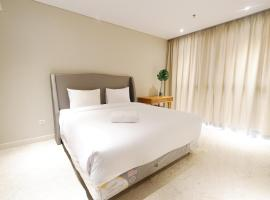 Spacious and Modern 2BR The Residence Ciputra World 2 Apartment near to SCBD By Travelio
