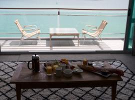 奥克兰王子码头的海滨酒店式公寓