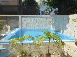 House with pool, Cojimar, Havana