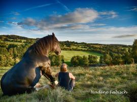 Ferienwohung auf dem Pferdehof für 2-5 Gäste
