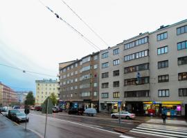Studio apartment in Helsinki, Runeberginkatu 57