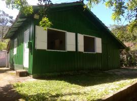 Casa verde no Matadeiro