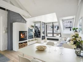 Idyllic loft apartment with view and private roof terrace