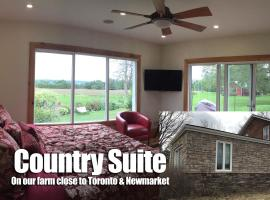 Country Suite Luxury Getaway by Toronto Newmarket