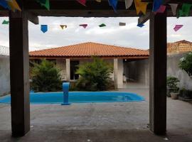 Bella Casa de Praia na Redinha Nova