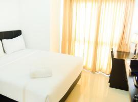 Strategic Location and City View 1BR Tamansari Semanggi Apartment By Travelio