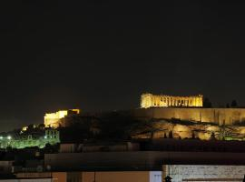 Apartment with beautiful view of the Acropolis
