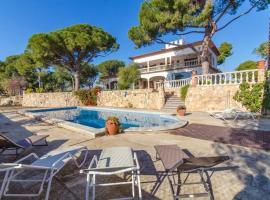 Llorenc del Penedes Villa Sleeps 10 Pool