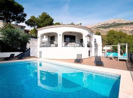 Altea la Vella Villa Sleeps 8 Pool Air Con WiFi
