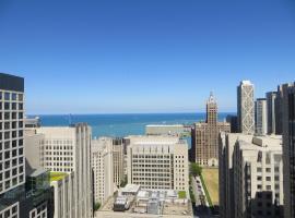 芝加哥市区壮丽大道霍姆伍德套房酒店