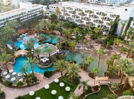 伊斯罗泰皇家花园全套房酒店,位于埃拉特的酒店