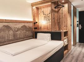 BinderS Budget City-Mountain Hotel,位于因斯布鲁克的酒店