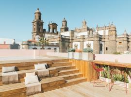 VEINTIUNO Emblematic Hotels - Adults Only,位于大加那利岛拉斯帕尔马斯的酒店