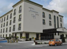 阿拉米达快捷酒店,位于马塔莫罗斯的酒店