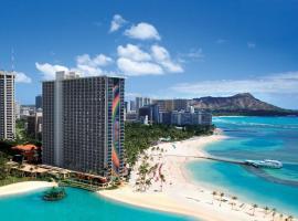 夏威夷威基基海滩希尔顿度假酒店