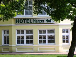 哈泽霍夫酒店,位于奥斯特罗德的酒店